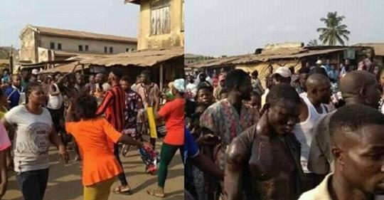 Prophet Beaten To Death In Ekiti After Being Caught Eating Bread And Feces