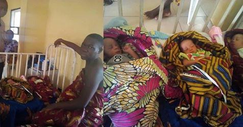 Okada Man Cries Out After Wife Gives Birth To Triplets After Welcoming Twins (Photos)