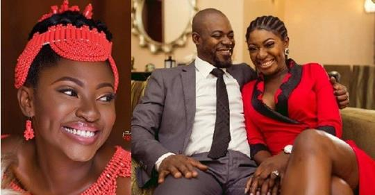 Yvonne Jegede Fuels Rumors Of Crisis In Her Marriage.