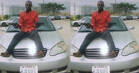 Man Attempting To Steal Uber Car Apprehended In Lagos (Photo)