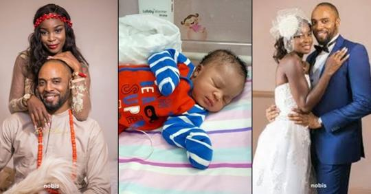 Actor Kalu Ikeagwu And Wife Welcome A Son