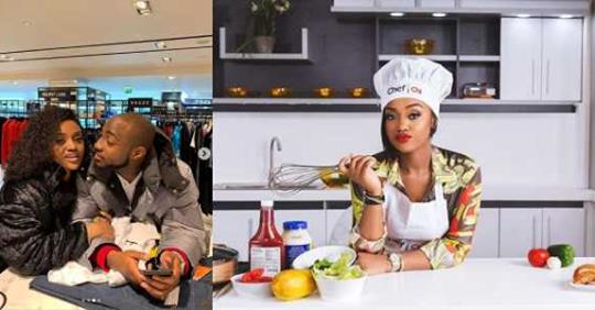See How Davido Advertised For His, Bae, Chioma Cooking Show