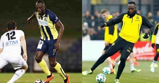 Usain Bolt Retires From Football After Only 2 Matches