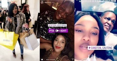 Meet Slay Queen Causing Commotion Between The Two Sons Of Mugabe (Photos)