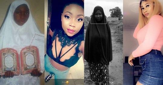#10yearchallenge: Former Hijab-wearing Muslim Ladies Shock Users With Their Photos