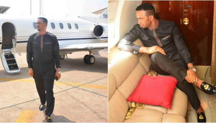 Dr Chris Okafor Buys A Private Jet (Photos)