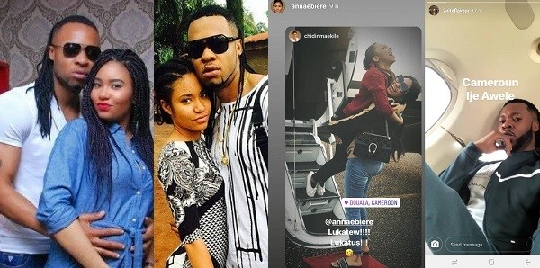 Flavour And Anna Banner Still Going Strong, As They Jet Out To Cameroon Together, Weeks After He Welcomed Another Child With His First Babymama