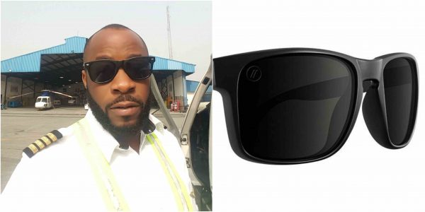 Young Nigerian Pilot Buys Sunglasses For N1000, Almost Sold It For N17,500