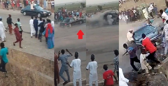Car Drifting Goes Wrong In Adamawa State, Many Dead