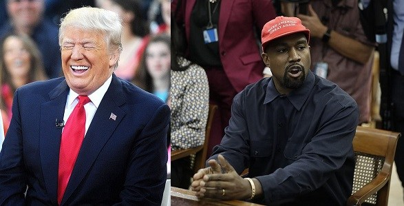 """""""I Stand With Donald Trump"""" – Kanye West Pledges His Loyalty"""