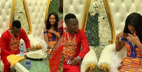 Two Ghanaian Footballers Get Married To Each Other In Style (Photos)