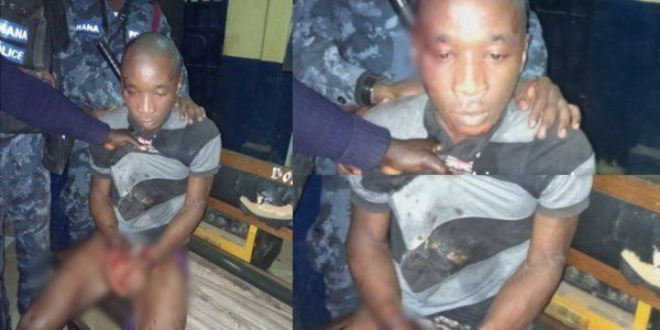 Ghanaian Police Recaptures Nigerian Kidnapper Who Broke Out Of Jail