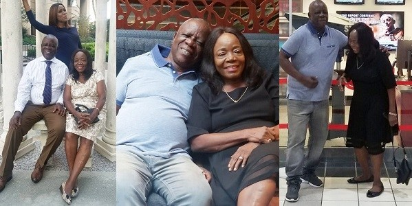 Linda Ikeji Celebrates Her Parent As They Mark Their 40th Wedding Anniversary (Photos)