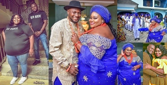 More Wedding Photos Of The Plus-sized Bride And Her Groom