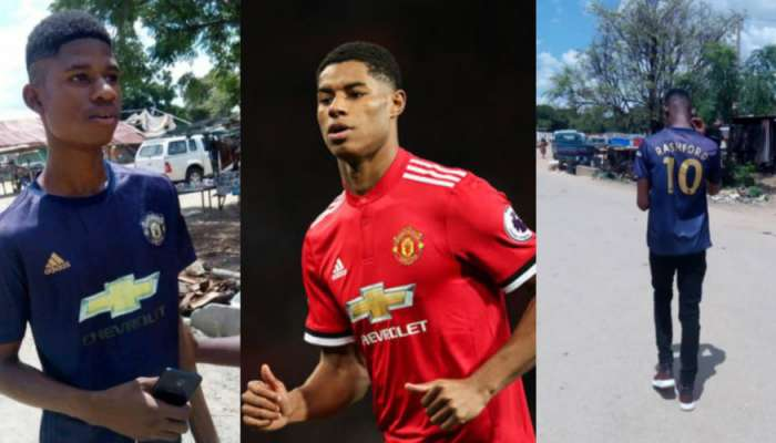 Ghanaian Guy Who Looks Like Manchester United Star Becomes Internet Sensation