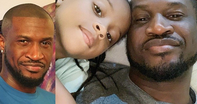 Peter Okoye Reunites With His Daughter, Aliona. (Photo)