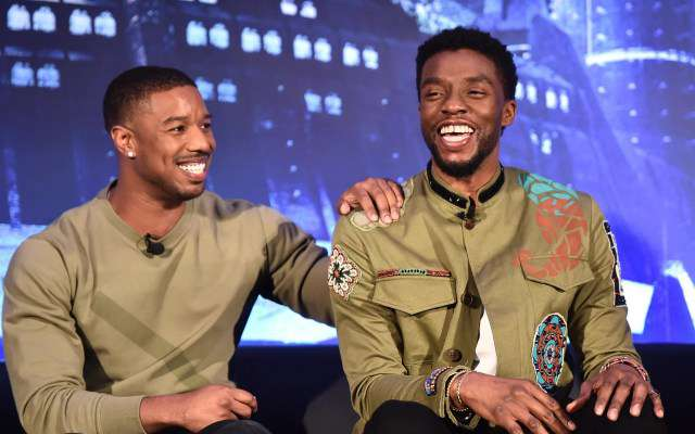 Chadwick Boseman And Michael B. Jordan Allegedly Got Into A Fight At Golden Globes
