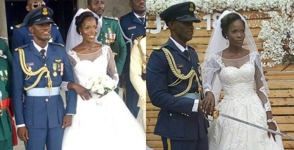 Wife Of NAF Pilot, Perowei Jacob Who Was Killed In Borno Helicopter Crash Reveals She Learnt About Her Husband's Death On A Whatsapp Status Update