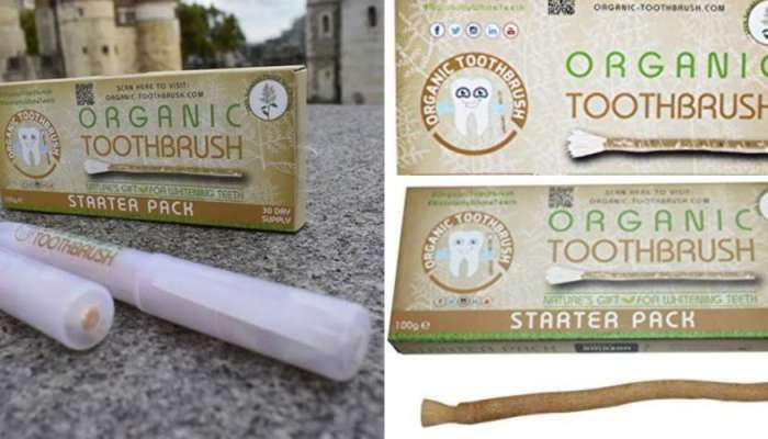 Nigerians React As Chewing Stick Undergoes Serious Rebranding Abroad