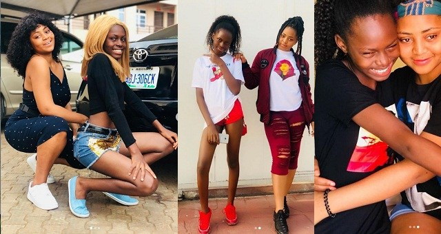 Actress, Regina Daniels And Sister Look Stunning In New Photos