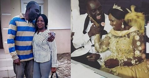 Simi's Mom Celebrates First Wedding Anniversary With A Lovely Message To Her Hubby