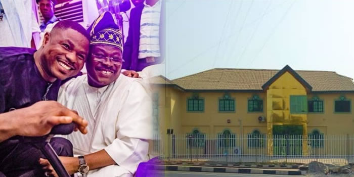 Yinka Ayefele Thanks Governor Ajimobi For Rebuilding His Music House A Year After It Was Demolished