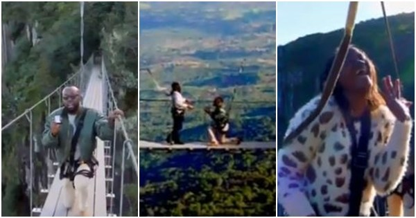 Boyfriend Proposes To Girlfriend Of Five Years In The Middle Of A Bridge | She Bursts Into Tears (Video)