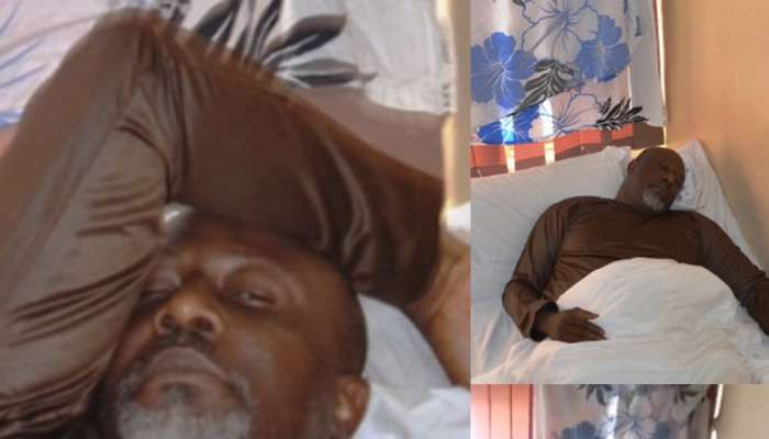 Photos Of Dino Melaye In Police Hospital