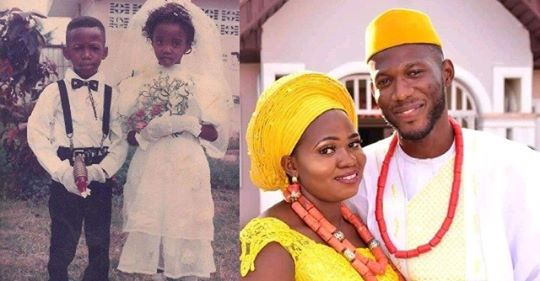 Ring Bearer & Little Bride Become Husband And Wife 28 Years Later