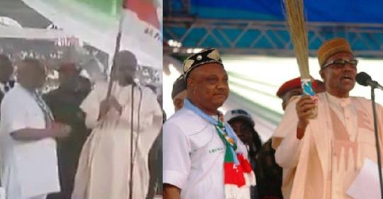 """President Buhari Calls APC Governorship Candidate In Delta State """"Presidential Candidate"""" (Video)"""