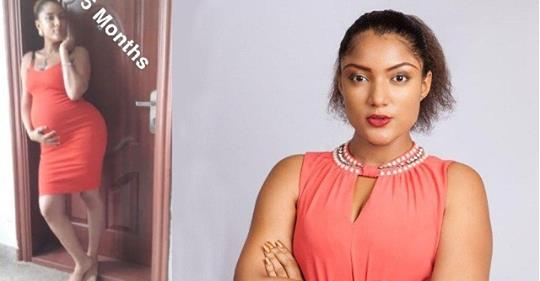 """Gifty Shows Off Her Bump At Different Stages Of Pregnancy, Reveals She's A Proud Mother And """"wife"""""""