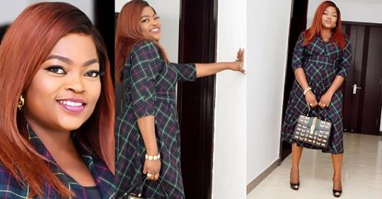 Funke Akindele-Bello Shares First Photos Since Welcoming Her Twin Boys