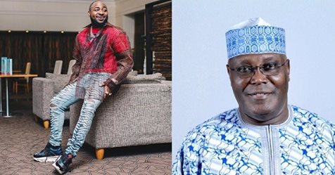 Davido Is The King Of Nigerian Music – Presidential Aspirant, Atiku Abubakar Declares