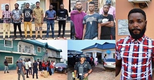 Again, Seven Yahoo Boys Arrested In Ibadan, Exotic Cars Recovered