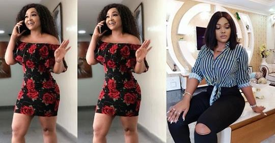 """""""Hello, Baby Have You Sent It"""" – Mercy Aigbe Says As She Wows In Figure-hugging Dress"""