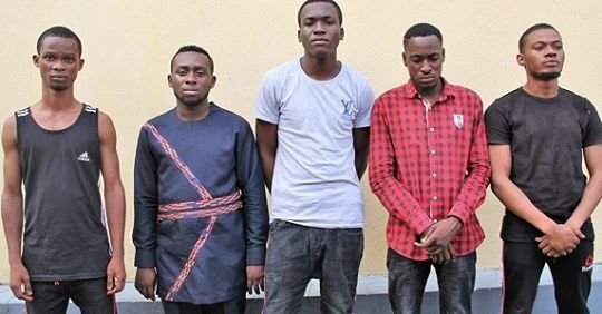 N31 Million Recovered From Five Yahoo Boys After Arrest (Photo)