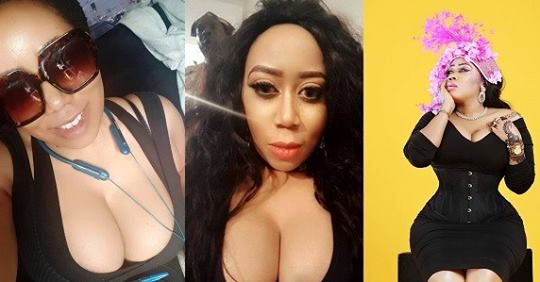 """""""Its Amazing What Wonders An Amazing Bra Can Do"""" – Actress, Moyo Lawal Says As She Flaunts Cleavage In New Photo"""