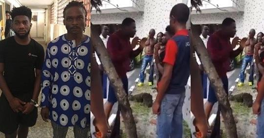 Moment Men Who Drugged, Raped, And Filmed 23-year-old Lady, In Lekki Hotel Were Confronted By Victim's Brother (Video)