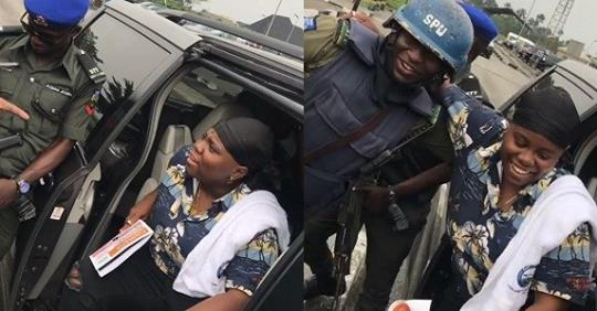 """Police Confront Singer, Teni For Saying """"she Will Slap Police"""" In Her Song (Video)"""