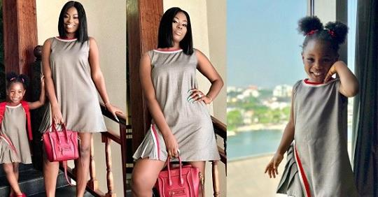 Sophia Momodu And Daughter, Imade Look Dazzling As They Step Out In Matching Attire (Photos)