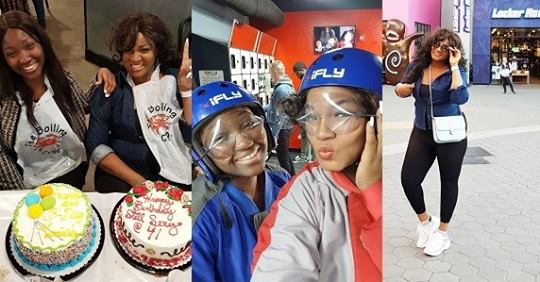 Lovely Photos From Omotola And Her Daughter, Meraiah's Birthday Celebration