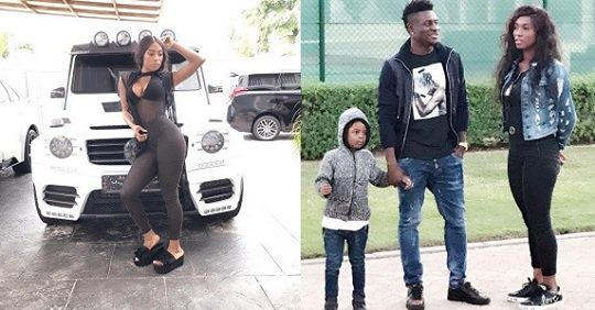 """You Still Look As Beautiful As The Day I Met You"" – Obafemi Martins Tells Wife As She Turns A Year Older"