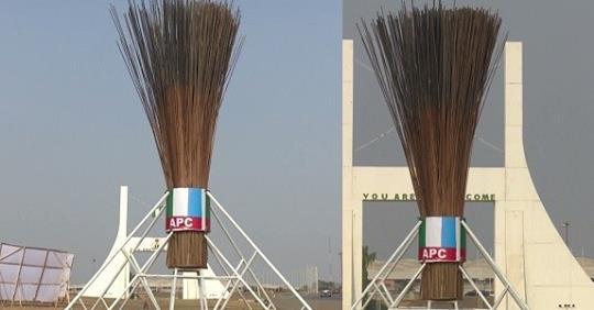 We Don't Know Who Constructed The Giant Broom – APC