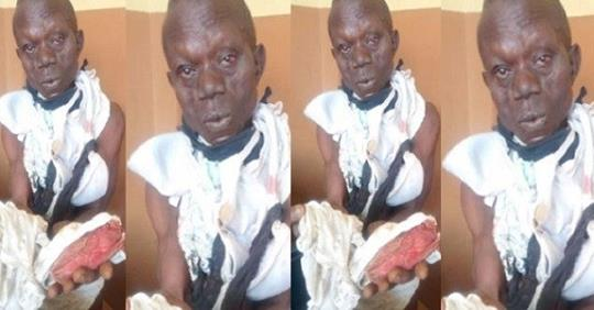Man Apprehended With Female Pants, Says A Prophet Sent Him To Steal Them For Money Rituals