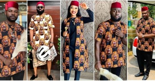 Celebrities Storm The Wedding Of Tonto Dikeh's Best Friend, Richard Nnadi And CEO Zaron Cosmetics, Chioma (Photos+Video)