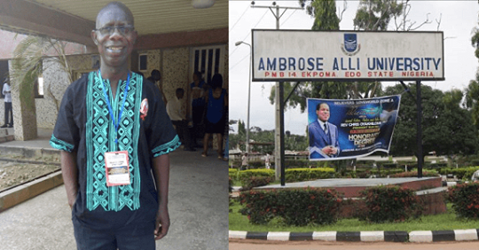 Chairman Of ASUU Ambrose Alli Chapter Sues The University For N200million Over Sex For Marks Allegation