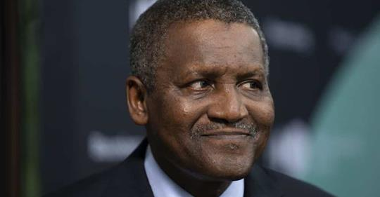 Dangote Gains $5.8bn In One Day… Ranked World's 64th Richest Person, Worth $16.6bn
