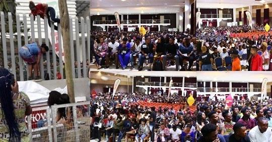 The Crowd At The #BBNaija Auditions Is Proof Of Our Flawed Value System And Our Failed Government – Nigerians React
