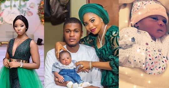 Couple Who Are Die-hard Fans Of Ex-BBNaija Star Bambam Name Their First Child After Her (Photos)