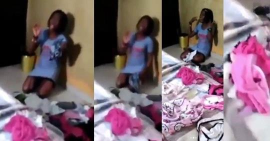 Housemaid Caught With 8 Panties Belonging To Her Madam And Her Madam's Daughter